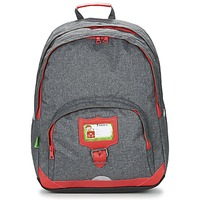 Bags Children Rucksacks Tann's CLASSIC SAC A DOS L Grey / Red