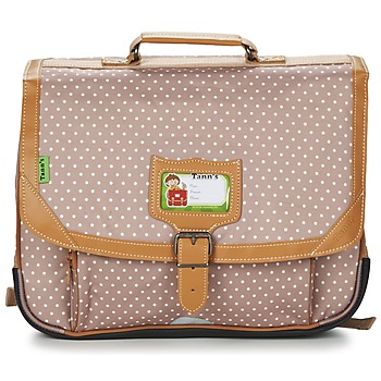 Bags Girl Satchels Tann's LES CHICS FILLES CARTABLE 38CM Beige