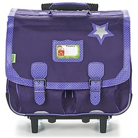 Bags Girl Rucksacks / Trolley bags Tann's LES CHICS FILLES CARTABLE TROLLEY 41CM Marine