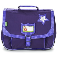 Bags Girl Satchels Tann's LES CHICS FILLES CARTABLE 35CM Violet