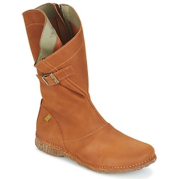 Shoes Women Boots El Naturalista ANGKOR Camel