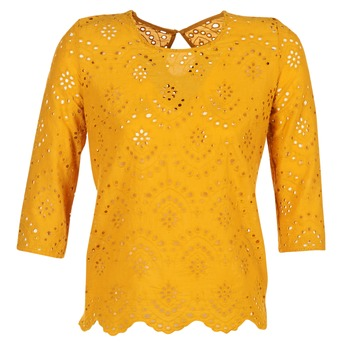 material Women Blouses Betty London GRIZ Yellow