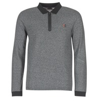 material Men long-sleeved polo shirts Yurban HERDEN Grey