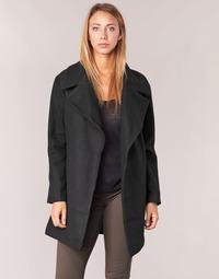 material Women coats Kaporal BANJO Black
