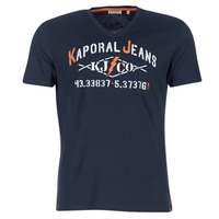 material Men short-sleeved t-shirts Kaporal MAKAO Marine