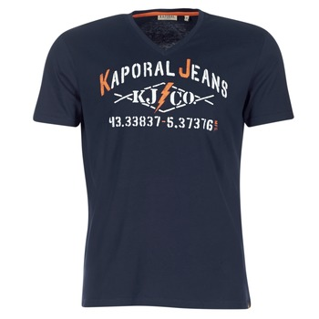 material Men short-sleeved t-shirts Kaporal MAKAO Marine