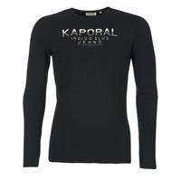material Men Long sleeved shirts Kaporal PONIO Black