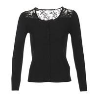 material Women Jackets / Cardigans Naf Naf MOBRANDY Black