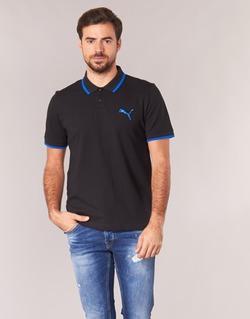 material Men short-sleeved polo shirts Puma ACTIVE HERO POLO Black