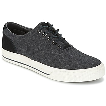 Shoes Men Low top trainers Ralph Lauren VAUGHN Grey