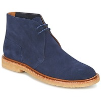 Shoes Men Mid boots Polo Ralph Lauren KARLYLE Marine