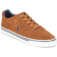 Shoes Men Low top trainers Polo Ralph Lauren HANFORD Cognac