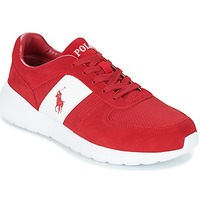 Shoes Men Low top trainers Polo Ralph Lauren CORDELL Red