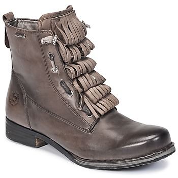 Shoes Women Mid boots Bugatti PETRI Grey / Dark