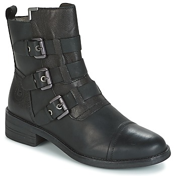 Shoes Women Mid boots Bugatti POMO Grey / Dark