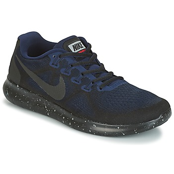 Shoes Women Running shoes Nike FREE RUN 2017 SHIELD Black / Blue