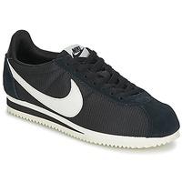 Shoes Women Low top trainers Nike CLASSIC CORTEZ NYLON W Black / White