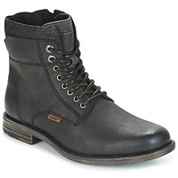 Shoes Men Mid boots Levi's EMERSON COLLAR Black