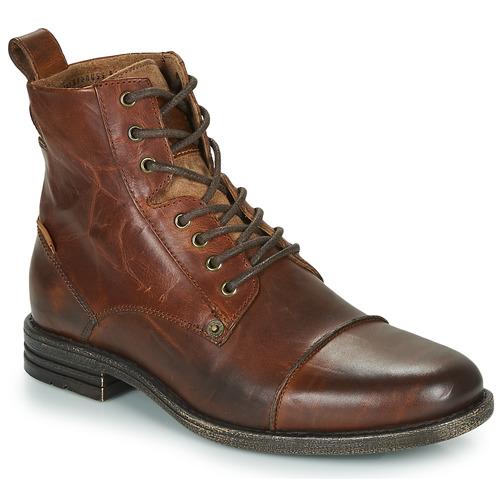 Shoes Men Mid boots Levi's EMERSON Brown