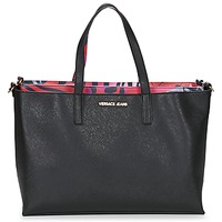Bags Women Shopper bags Versace Jeans ANTALOS Black / Red / Multicoloured