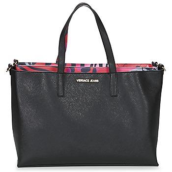 Bags Women Shopper bags Versace Jeans ANTALOS Black / Red / Multicoloured