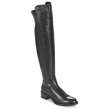 Shoes Women High boots Unisa ELVIS Black