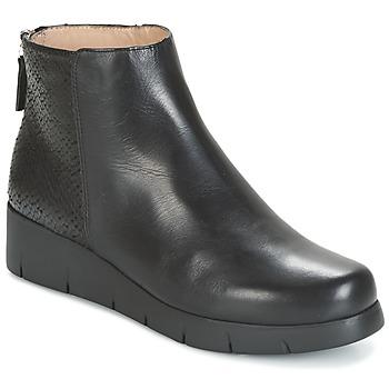 Shoes Women Mid boots Unisa FANI Black