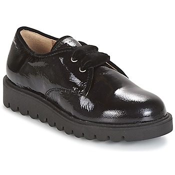 Shoes Girl Derby shoes Unisa MICK Black