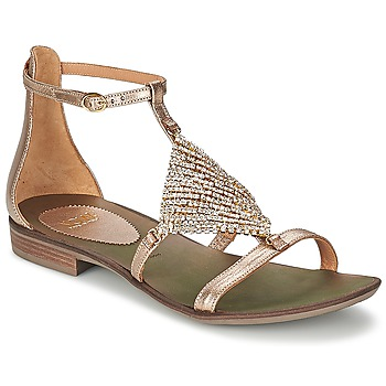 Shoes Women Sandals Now BRENTA Champagne