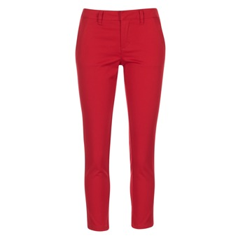 material Women chinos Volcom GMJ FROCHICKIE PANT Red