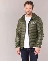 material Men Duffel coats Emporio Armani EA7 TRAIN CORE ID DOWN LIGHT HD Kaki