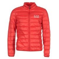 material Men Duffel coats Emporio Armani EA7 TRAIN CORE ID DOWN LIGHT JKT Red