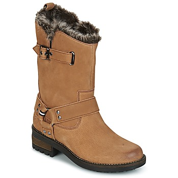 Shoes Women Mid boots Superdry TEMPTER BOOT Brown