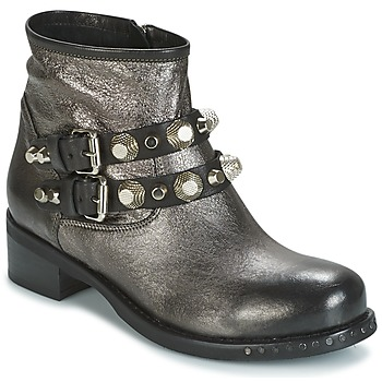 Shoes Women Mid boots Mimmu BERLO Silver
