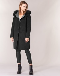 material Women coats Oakwood 62178 Black / Grey