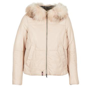 material Women Duffel coats Oakwood 62479 Ivory