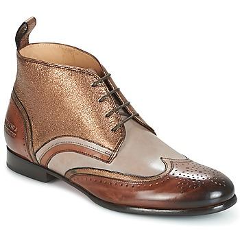 Shoes Women Mid boots Melvin & Hamilton SALLY 16 GOLD