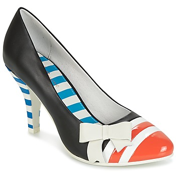Shoes Women Court shoes Lola Ramona STILETTO Black / Orange / White