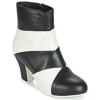 Shoes Women Ankle boots Lola Ramona ELSA White / Black