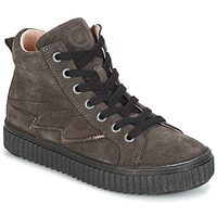Shoes Girl High top trainers Acebo's LONDON Grey