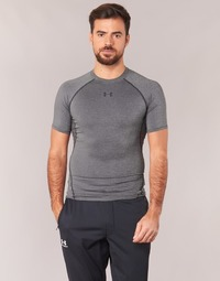 material Men short-sleeved t-shirts Under Armour ARMOUR HG SS Grey