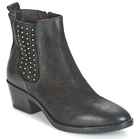 Shoes Women Ankle boots Mjus FRESNO STUDS Black
