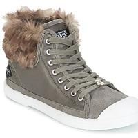 Shoes Women High top trainers Le Temps des Cerises BASIC 03 Grey