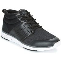 Shoes Men High top trainers Kappa NASSAU MID Black / Grey