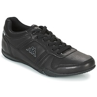Shoes Men Low top trainers Kappa PARHELIE Black / Grey