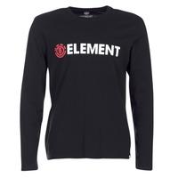 material Men Long sleeved shirts Element BLAZIN LS Black