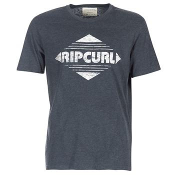 material Men short-sleeved t-shirts Rip Curl BIG MAMA DIAMOND Black