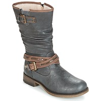 Shoes Women Boots Mustang ISALBA Grey