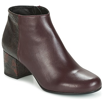 Shoes Women Ankle boots Paco Gil GENOVA Bordeaux