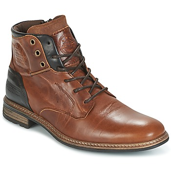 Shoes Men Mid boots Bullboxer MOHA COGNAC